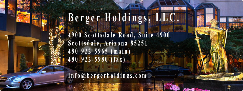 Darryl Berger - Berger Holdings Real Estate Investment Company